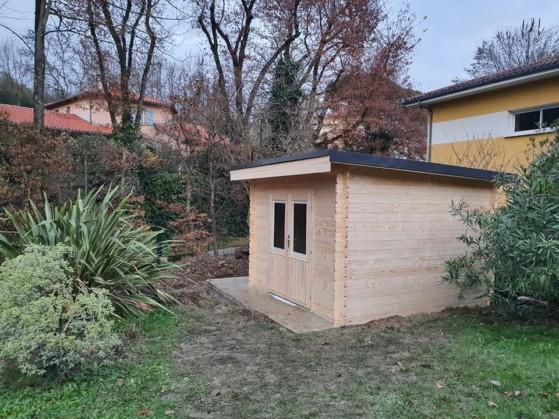 Abris de jardins réalisés par les Jardins d'Oc